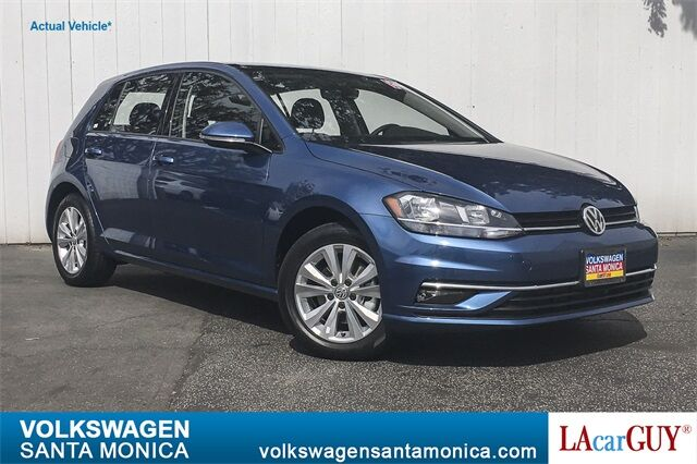 2019 Volkswagen Golf TSI SE 4-Door Santa Monica CA