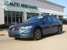 2019_Volkswagen_Jetta_1.4T SE 8A LEATHER, HTD FRONT STS, KEYLESS START, BACKUP CAMERA, CLIMATE CONTROL, BLIND SPOT MONITOR_ Plano TX