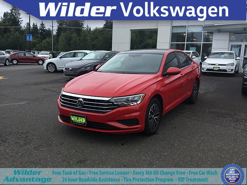 2019 Volkswagen Jetta 4d Sedan 1.4T SE Port Angeles WA
