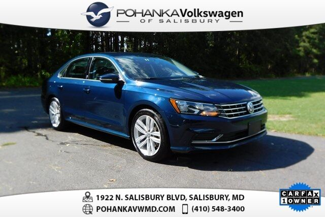 2019 Volkswagen Passat 2.0T Wolfsburg ** 0% FINANCING AVAILABLE ** LEATHER & SUNROOF ** Salisbury MD