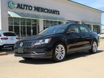 2019 Volkswagen Passat Wolfsburg Edition LEATHER, SUNROOF, BACLUP CAMERA, HTD FRONT SEATS, BLIND SPOT MONITOR