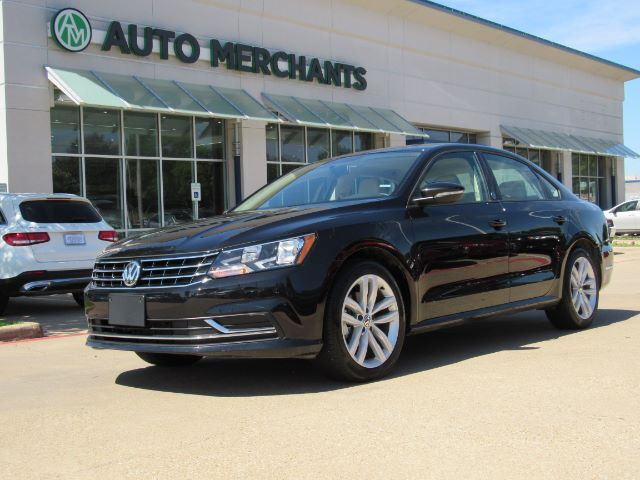 2019 Volkswagen Passat Wolfsburg Edition LEATHER, SUNROOF, BACLUP CAMERA, HTD FRONT SEATS, BLIND SPOT MONITOR Plano TX