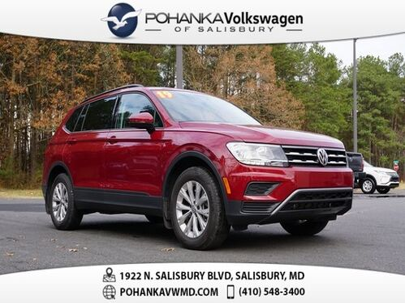 2019_Volkswagen_Tiguan_2.0T S ** THIRD ROW ** 29+ MPG **_ Salisbury MD
