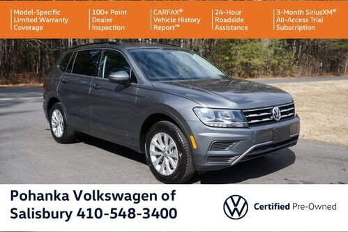 2019_Volkswagen_Tiguan_2.0T S ** VW CERTIFIED ** 84K MILE WARRANTY ** 4Motion_ Salisbury MD
