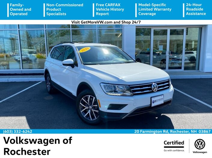 2019 Volkswagen Tiguan 2.0T SE 4Motion Rochester NH
