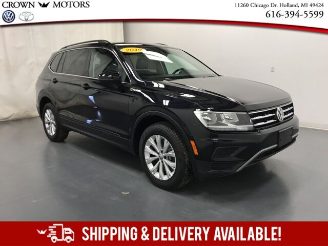 2019 Volkswagen Tiguan 2.0T SE 4Motion w/ Panoramic Moonroof Holland MI
