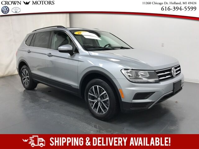 2019 Volkswagen Tiguan 2.0T SE 4Motion w/ Panoramic Sunroof Holland MI