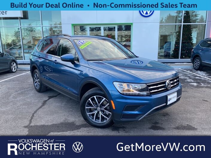 2019 Volkswagen Tiguan 2.0T SE 4Motion w/ Sunroof Rochester NH