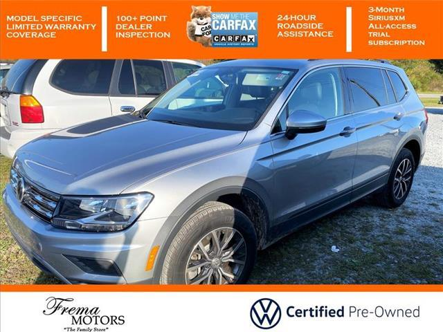 2019 Volkswagen Tiguan 2.0T SE All-wheel Drive 4MOTION Goldsboro NC