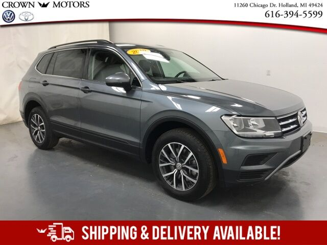2019 Volkswagen Tiguan 2.0T SE w/ Panoramic Moonroof 4Motion Holland MI