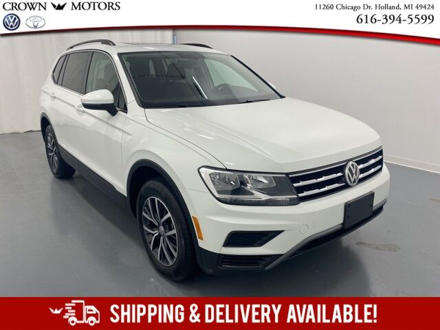 2019 Volkswagen Tiguan 2.0T SE w/ Panoramic Roof  4Motion Holland MI