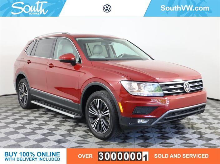 2019 Volkswagen Tiguan 2.0T SEL Miami FL