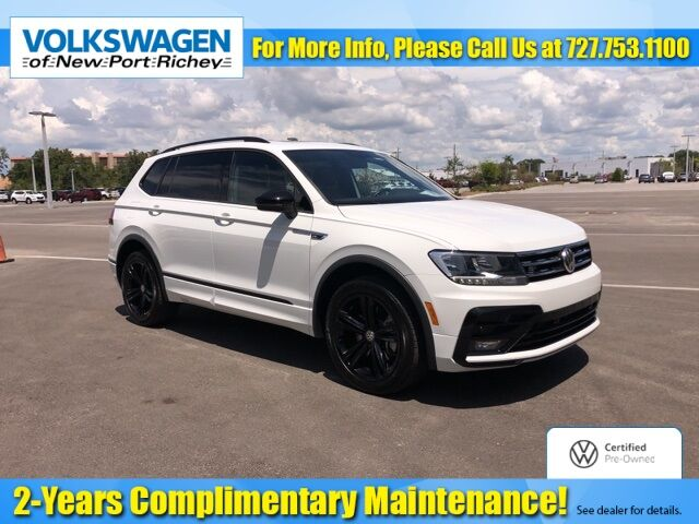 Used 2019 Volkswagen Tiguan 2 0t Sel In New Port Richey Fl