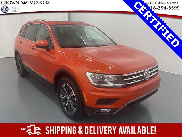 2019 Volkswagen Tiguan 2.0T SEL w/ Third Row Seating 4Motion Holland MI