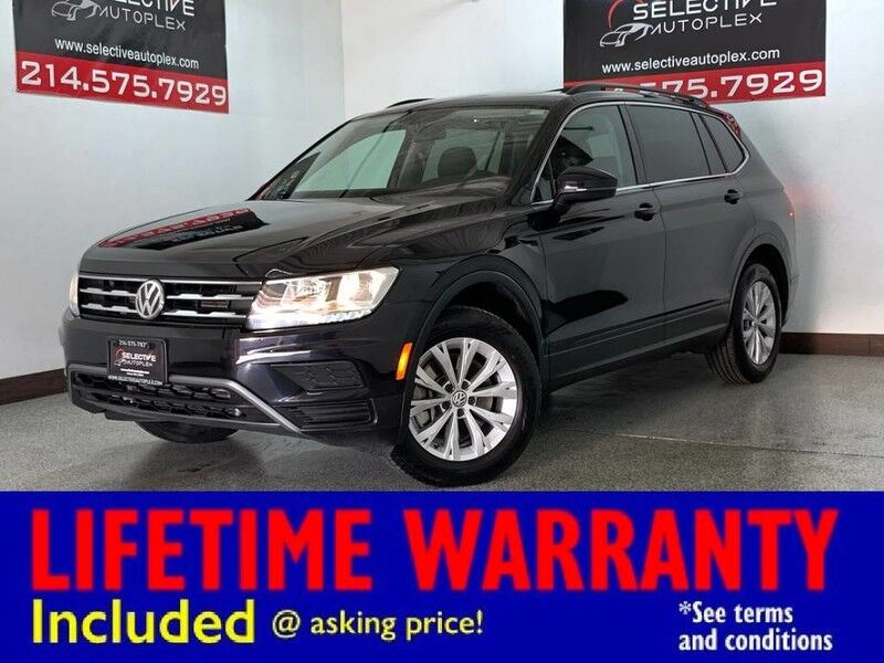 2019 Volkswagen Tiguan SE FWD, LEATHER SEATS, HEATED FRONT SEATS, REAR VIEW CAM Carrollton TX