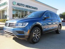 2019_Volkswagen_Tiguan_SE. THIRD ROW SEATING, BLIND SPOT MONITOR, LEATHER SEATS, BACKUP CAMERA, APPLE CAR PLAY/ANDROID AUTO_ Plano TX