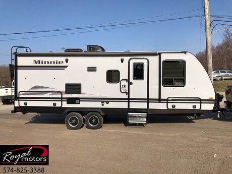 2019 Winnebago MINNIE 2201MB TRAVEL TRAILER Middlebury IN