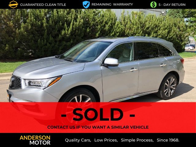 2020 Acura MDX 9-Spd AT SH-AWD w/Advance and Entertainment Salt Lake City UT