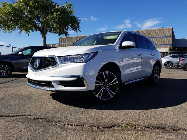 2020 Acura MDX Technology Package Albuquerque NM