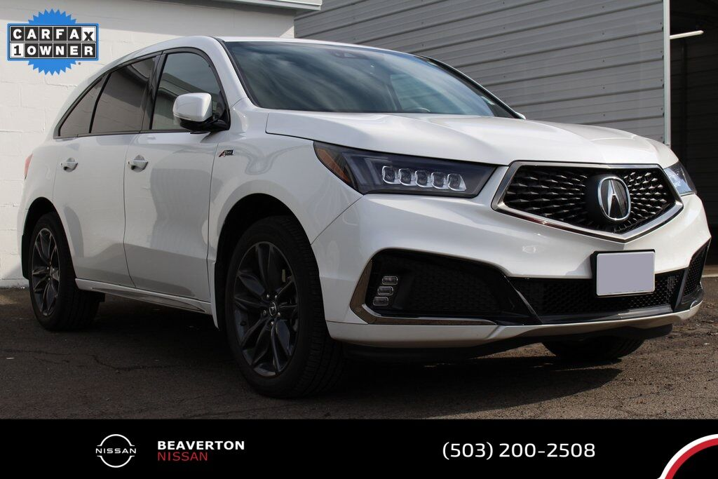 2020 Acura MDX Technology & A-Spec Packages Portland OR