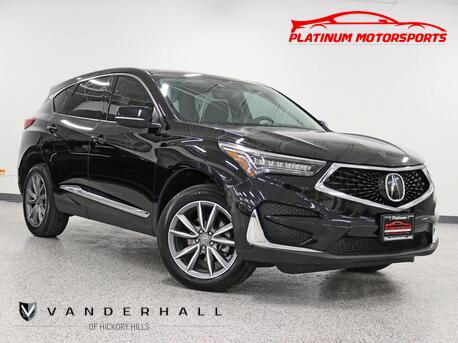 2020_Acura_RDX w/Technology Pkg_1 Owner Nav Back Up Pano 2 Keys Books Like New Loaded_ Hickory Hills IL