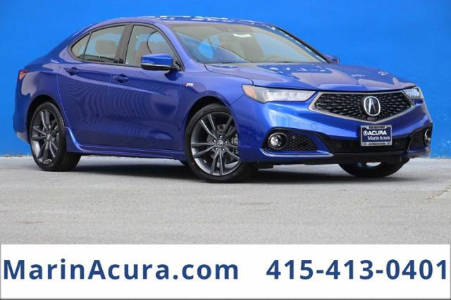 2020 Acura TLX 2.4L FWD w/A-Spec Pkg Red Leather Bay Area CA