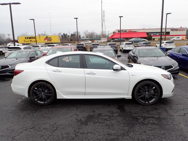 2020 Acura TLX w/A-Spec Pkg Red Leather Highland Park IL