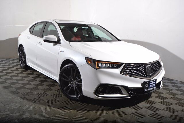 2020 Acura TLX w/A-Spec Pkg Red Leather Seattle WA