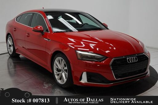 2020_Audi_A5_2.0T Premium CAM,SUNROOF,HTD STS,18IN WLS,HID LIGH_ Plano TX