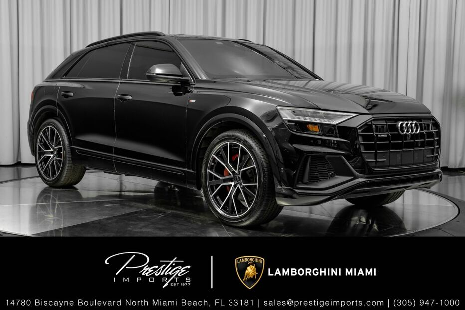 2020_Audi_Q8_Prestige_ North Miami Beach FL