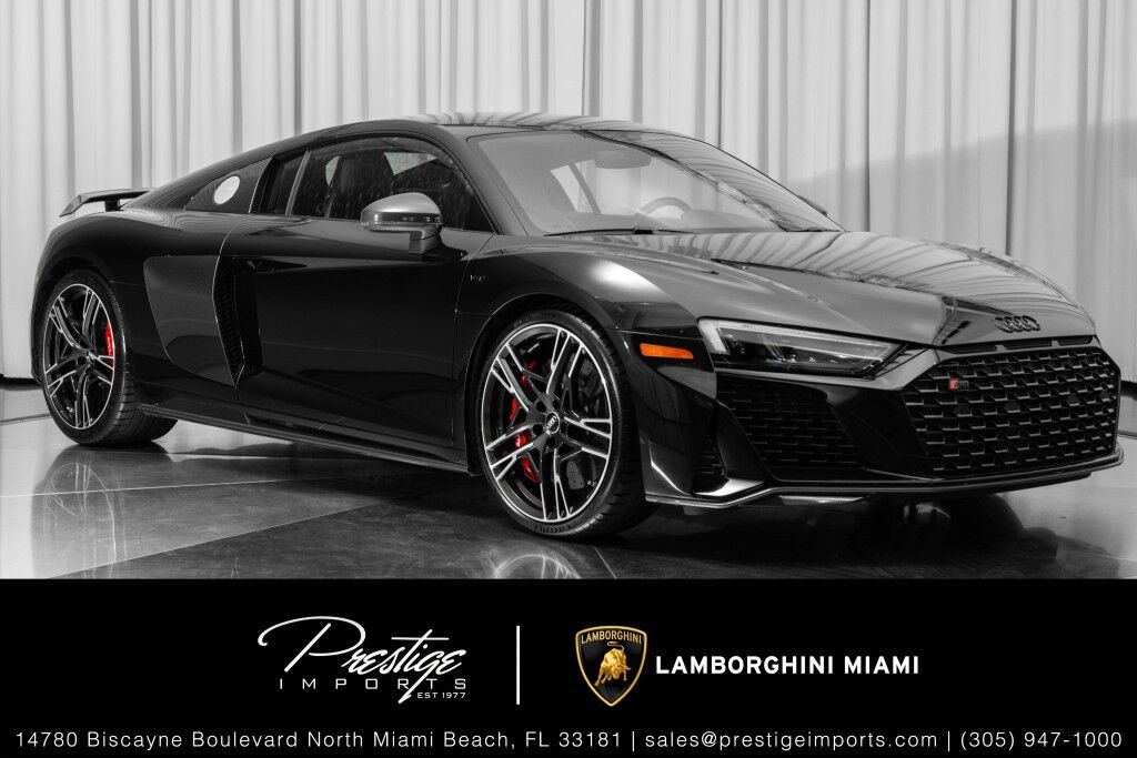 2020_Audi_R8 Coupe_V10 performance_ North Miami Beach FL