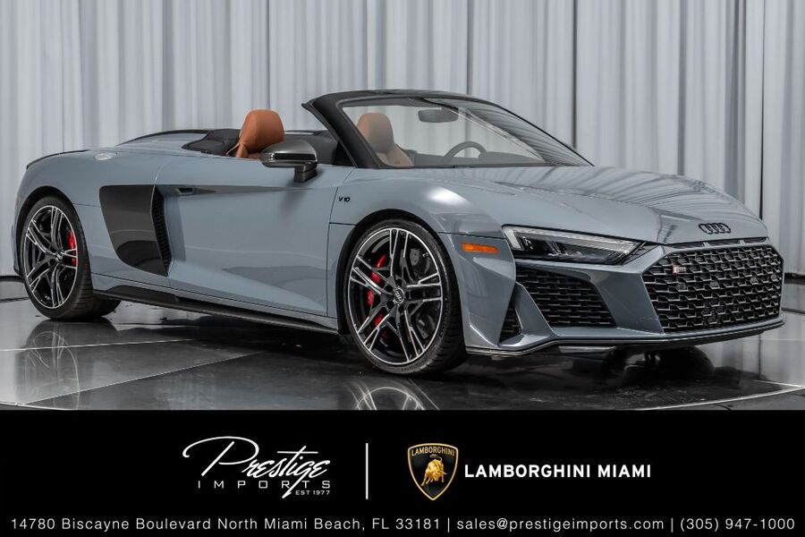2020_Audi_R8 Spyder_V10 performance_ North Miami Beach FL