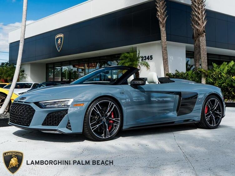 2020_Audi_R8 Spyder_V10 performance_ Palm Beach FL