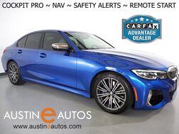 2020_BMW_3 Series M340i_*LIVE COCKPIT PRO, NAVIGATION, BLIND SPOT & LANE DEPARTURE ALERT, BACKUP-CAMERA, MOONROOF, HEATED SEATS, REMOTE ENGINE START, COMFORT ACCESS, BLUETOOTH, APPLE CARPLAY_ Round Rock TX
