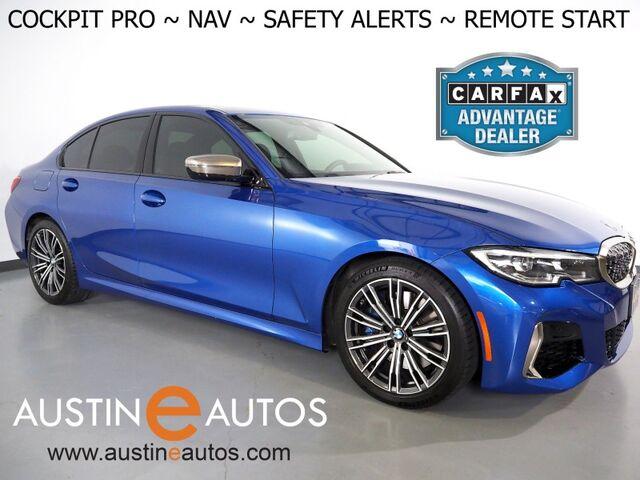 2020 BMW 3 Series M340i *LIVE COCKPIT PRO, NAVIGATION, BLIND SPOT & LANE DEPARTURE ALERT, BACKUP-CAMERA, MOONROOF, HEATED SEATS, REMOTE ENGINE START, COMFORT ACCESS, BLUETOOTH, APPLE CARPLAY Round Rock TX