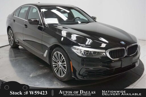 2020_BMW_5 Series_530i NAV,CAM,SUNROOF,HTD STS,PARK ASST,18IN WLS_ Plano TX