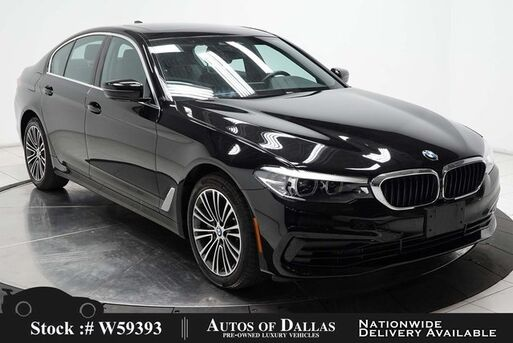 2020_BMW_5 Series_530i SPORT LINE,NAV,CAM,SUNROOF,HTD STS,BLIND SPOT_ Plano TX