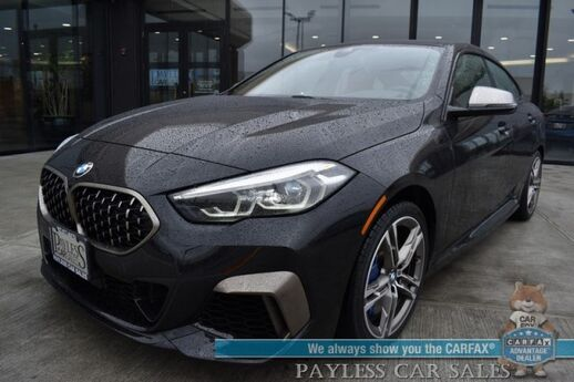 2020 BMW M235i Gran Coupe xDrive AWD / Automatic / Live Cockpit Pro / Power & Heated Leather Seats / Heated Steering Wheel / Navigation / Blind Spot Alert / Bluetooth / Back Up Camera / 32 MPG / Only 6k Miles / 1-Owner Anchorage AK