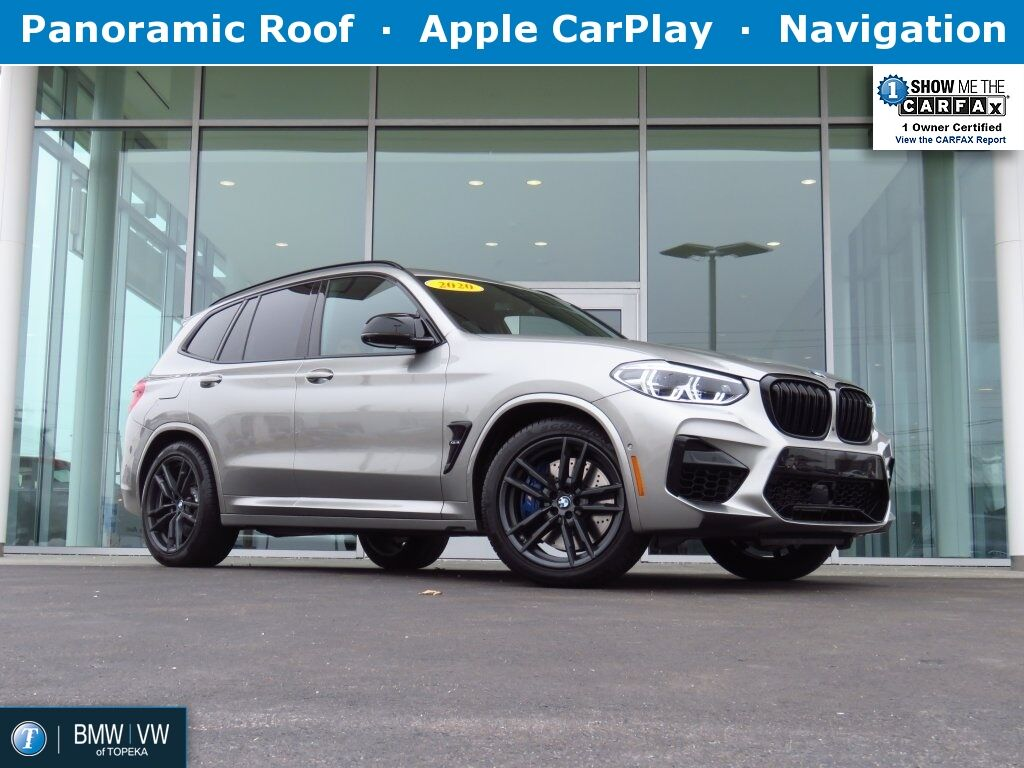 2020 BMW X3 M Competition Topeka KS