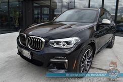 2020_BMW_X3_M40i / AWD / 3.0L Turbocharged V6 / Power & Heated Leather Seats / Heated Steering Wheel / Navigation / Harman Kardon Speakers / Panoramic Sunroof / Blind Spot Alert / 360 View Camera / Bluetooth / Tow Pkg / 1-Owner_ Anchorage AK