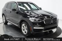 BMW X3 sDrive30i NAV,CAM,PANO,HTD STS,PARK ASST,18IN WHLS 2020