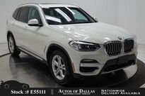 BMW X3 sDrive30i NAV,CAM,PANO,HTD STS,PARK ASST,18IN WLS 2020