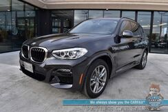 2020_BMW_X3_xDrive30i / AWD / M-Sport Pkg / Driving Assist Pkg / Convenience Pkg / Heated & Massaging Leather Seats / Heated Steering Wheel / Navigation / Sunroof / Blind Spot Alert / Bluetooth / Back Up Camera / 1-Owner_ Anchorage AK