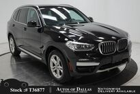 BMW X3 xDrive30i NAV,CAM,PANO,HTD STS,PARK ASST,18IN WHLS 2020