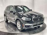 2020 BMW X3 xDrive30i X LINE,NAV,CAM,PANO,HTD STS,PARK ASST