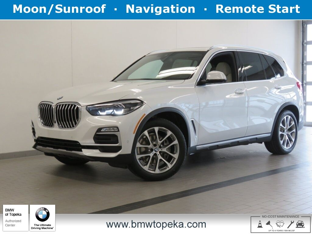 2020 BMW X5 xDrive40i Topeka KS