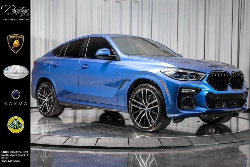 2020_BMW_X6_M50i_ North Miami Beach FL