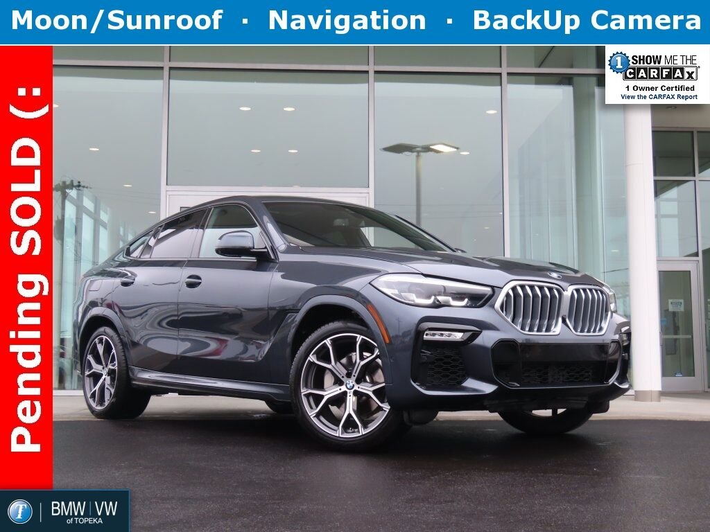 2020 BMW X6 xDrive40i Topeka KS