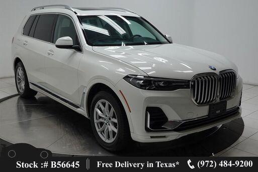 2020_BMW_X7_xDrive40i NAV,CAM,PANO,HTD STS,BLIND SPOT,3RD ROW_ Plano TX