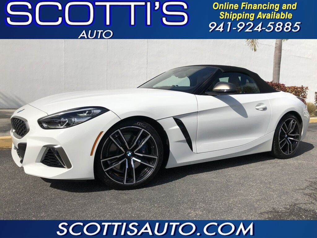 2020 BMW Z4 Z4 ROADSTER~ M-PACKAGE~ ONLY 5K MILES~ WHITE/ TAN LEATHER~NAVI~ LOADED~ BEAUTIFUL RIDE~ ONLINE FINANCE AND SHIPPING! CONTACT US TODAY!
